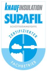 Knaufinsulation Supafil - zertifizierter Fachbetrieb